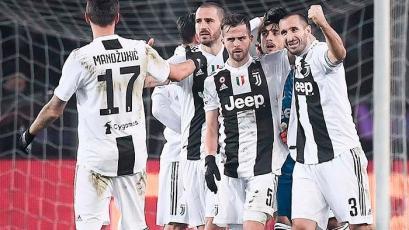 Juventus se impone 1-0 sobre Roma y sigue líder en la Serie A