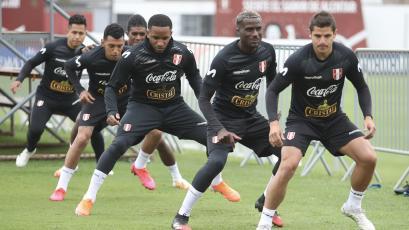 Selección peruana cumplió su tercer día de entrenamientos en la Videna