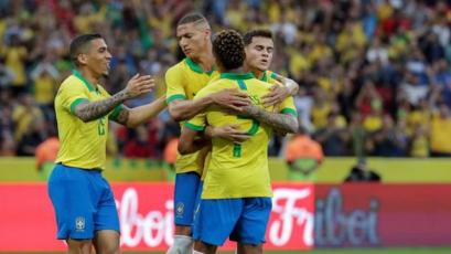 Brasil no tuvo piedad y goleó por 7-0 a Honduras