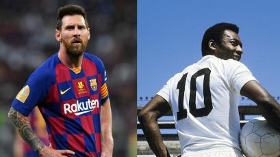 Santos aseguró mediante un comunicado que Lionel Messi no batió el récord de Pelé