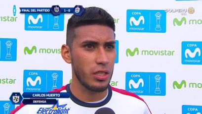 """Junior Huerto: """"La meta del equipo es salir del descenso"""""""