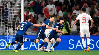 Japón se mete en la final de la Copa Asiática
