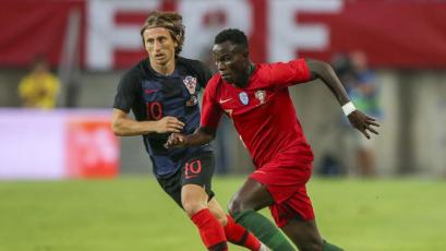 Portugal igualó 1-1 con Croacia en partido amistoso