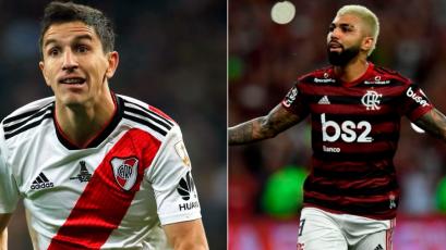 Alineaciones confirmadas: así formarán River Plate y Flamengo en la final de la Copa Libertadores