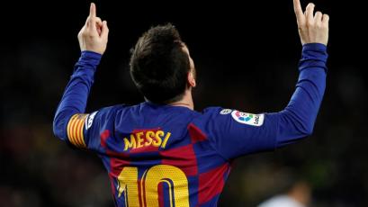 Barcelona: el recuerdo de la primera liga de Lionel Messi