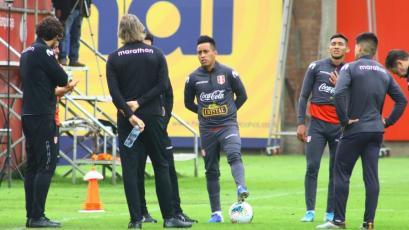 Selección Peruana: Christian Cueva se unió a los entrenamientos en La Videna (FOTOS)
