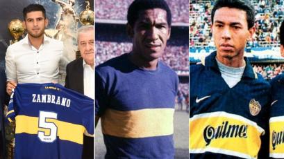 Carlos Zambrano y los peruanos que también vistieron la camiseta de Boca Juniors
