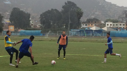 Calcaterra, Álvarez, Madrid y López volvieron a los entrenamientos en Cristal