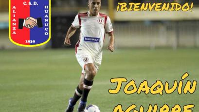 Joaquín Aguirre se suma a los refuerzos de Alianza Universidad
