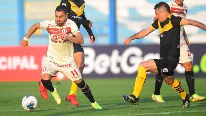 Liga1 Betsson: Universitario empató en la última jugada para el 2-2 final ante Academia Cantolao por la fecha 9 de la Fase 2 (VIDEO)