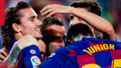 Lionel Messi se retira lesionado en el triunfo del Barcelona sobre el Villarreal