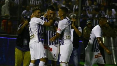 Alianza Lima goleó a Barcelona de Ecuador de la mano de Mauricio Affonso