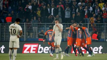 PSG cayó ante Montpellier y acumuló su tercera derrota en cuatro partidos