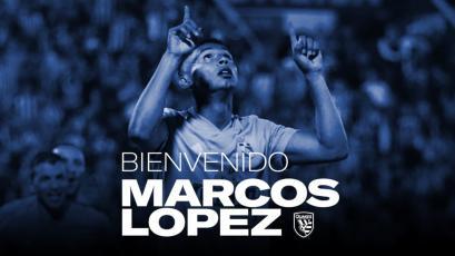 Marcos López fue anunciado por el San Jose Earthquakes
