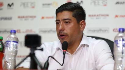 """Nicolás Córdova: """"No esperábamos un resultado así, jugamos mal"""""""