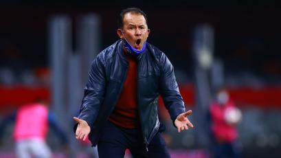 Juan Reynoso consiguió su segunda victoria consecutiva con Cruz Azul en la Liga MX