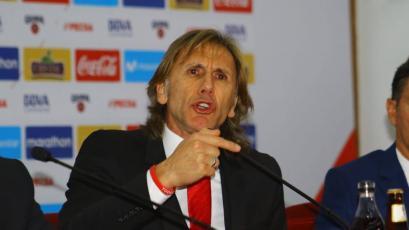 """Ricardo Gareca: """"Estamos obligados a observar a todos los jugadores"""""""