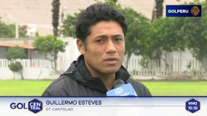 """Guillermo Estéves: """"Este receso nos sirve para recuperar a los jugadores lesionados"""""""