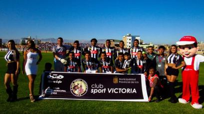 Sport Victoria se llevó un agónico triunfo ante Binacional