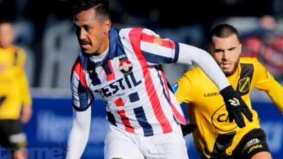 Renato Tapia fue titular en un nuevo triunfo del Willem II