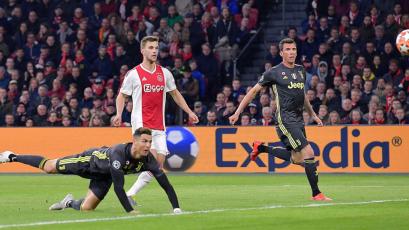 Champions League: Juventus y Ajax igualaron en la ida de los cuartos de final