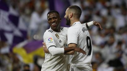 Benzema y Vinícius le dan una nueva victoria al Real Madrid