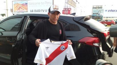 Egidio Arévalo Ríos llegó a Lima