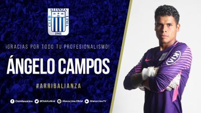 Angelo Campos no continuará en Alianza Lima