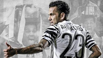 Dani Alves finalizó su contrato con Juventus