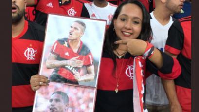 Copa Sudamericana: hinchas recuerdan a Paolo Guerrero
