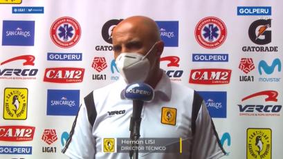"""Hernán Lisi sobre la remontada de Cantolao: """"Nunca renunciamos a lo que queríamos"""" (VIDEO)"""