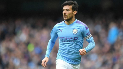 David Silva se quedará en el Manchester City hasta el final de la Champions League