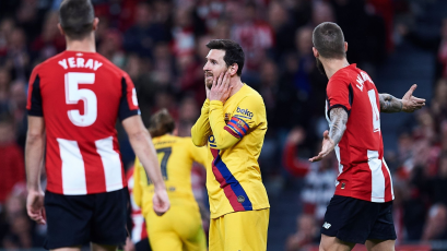 Barcelona cae eliminado sobre la hora ante el Athletic de Bilbao por la Copa del Rey (VIDEO)