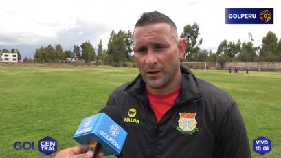 """Carlos Neumann: """"Esperamos ser protagonistas del torneo"""""""