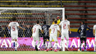 Independiente del Valle vs. Flamengo: el golazo de Murillo en la Recopa Sudamericana (VIDEO)