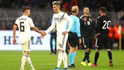 Argentina sorprendió a Alemania y le empató el partido en Dortmund (VIDEO)