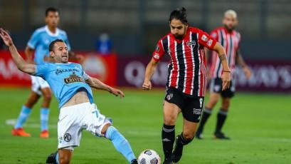 Copa Libertadores: Sporting Cristal perdió por 3-0 ante Sao Paulo en su primer partido