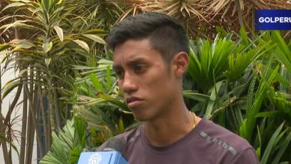 """Brandon Palacios: """"Jugar con equipos de experiencia nos va a ayudar bastante"""""""