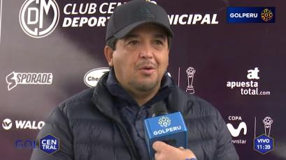 """Víctor Rivera: """"Estamos reforzando ideas para el partido ante Sport Boys"""""""