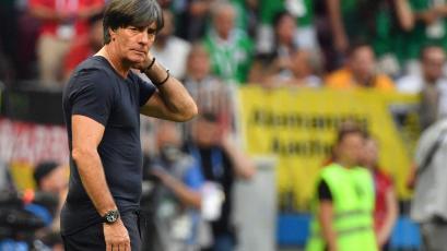 """Joachim Löw: """"Estamos decepcionados, hemos perdido el primer partido"""""""