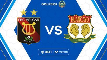 Liga1 Movistar: Melgar buscará recuperar la sonrisa ante Sport Huancayo