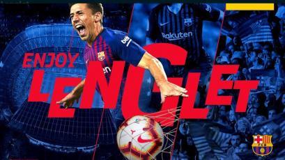 Barcelona hace oficial el fichaje de Clémend Lenglet