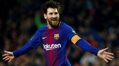 Con Lionel Messi saliendo desde el banco de suplentes, Barcelona superó 3-1 al Leganés