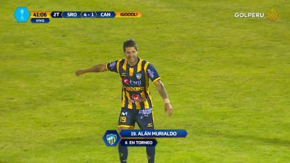 Sport Rosario goleó a Cantolao de la mano de un inspirado Alan Murialdo