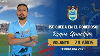 Liga1 Movistar 2020: Deportivo Binacional le renovó al paraguayo Roque Guachire