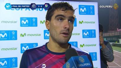 """Álvaro Ampuero: """"Ganar este partido era clave para nosotros"""""""