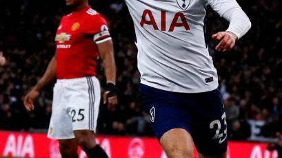 Premier League: Manchester United cayó por 2-0 ante el Tottenham