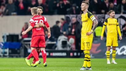 Borussia Dortmund cae en su visita al Dusseldorf y pierde el invicto