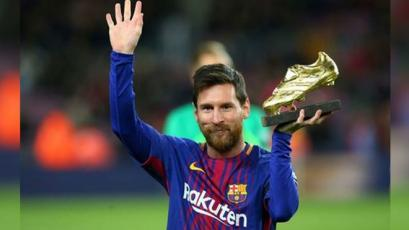 Messi cierra el 2018 encaminando una nueva Bota de Oro