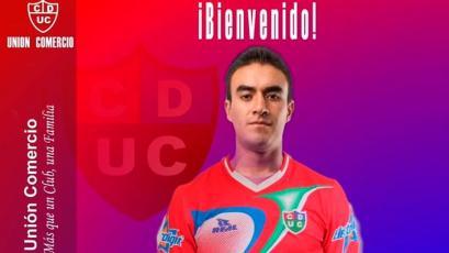Luis Garro se sumó a las filas de Unión Comercio